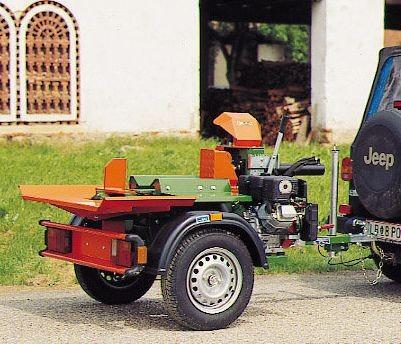 posch splitmaster 9t v2 mit benzinmotor pkw fahrwerk. Black Bedroom Furniture Sets. Home Design Ideas