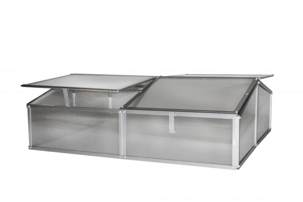 gaia 2x fr hbeet mini gew chshaus anzuchtbox 1 2 m. Black Bedroom Furniture Sets. Home Design Ideas